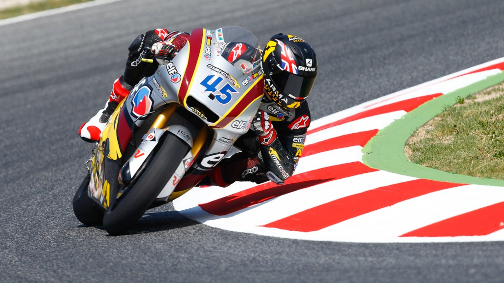 Scott Redding, Marc VDS Racing Team, Montmelo FP3