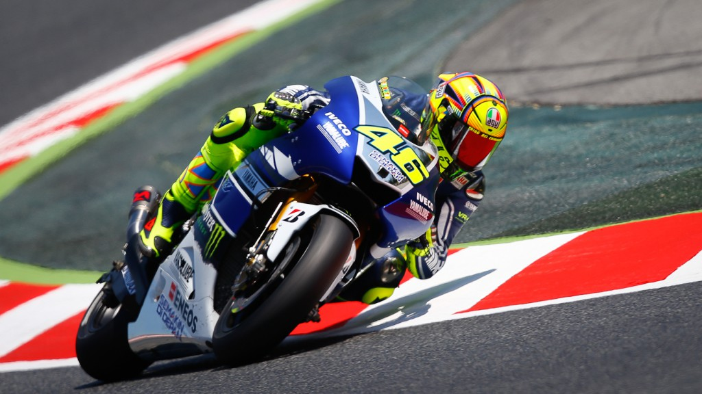 Valentino Rossi, Yamaha Factory Racing, Montmelo Q2