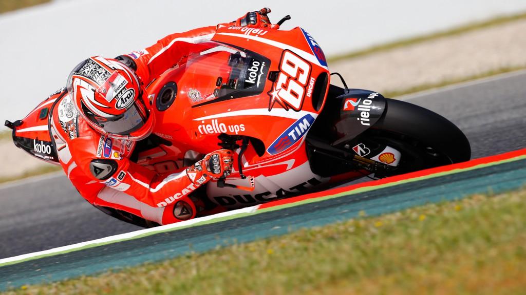 Nicky Hayden, Ducati Team, Montmelo Q2