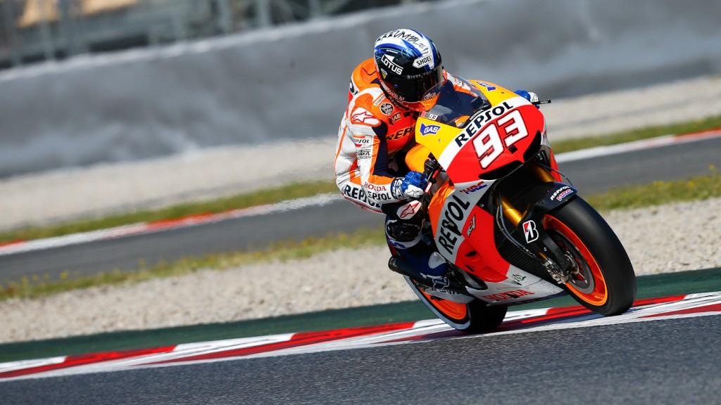Marc Marquez, Repsol Honda Team, Montmelo Q2