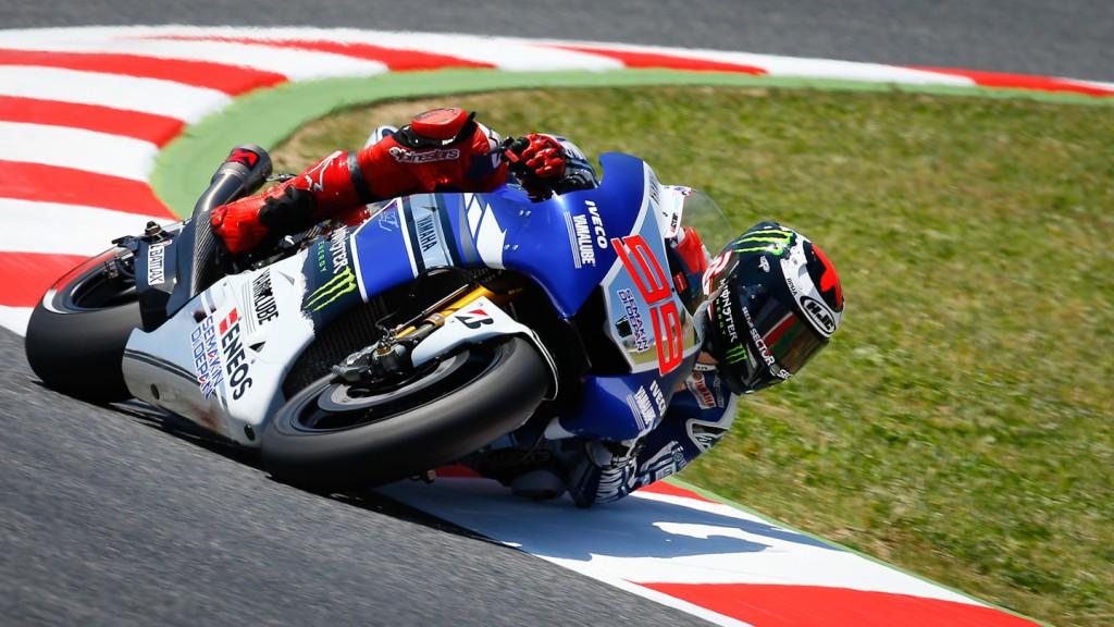 Jorge Lorenzo, Yamaha Factory Racing, Montmelo FP3
