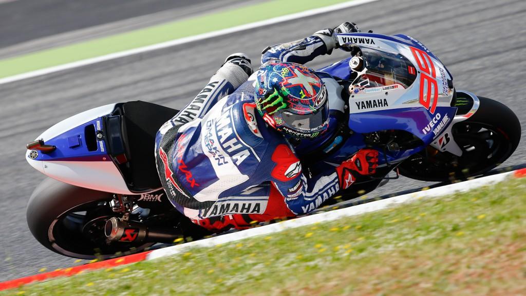 Jorge Lorenzo, Yamaha Factory Racing, Montmelo Q2