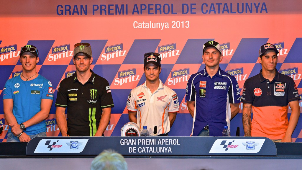 Gran Premi Aperol de Catalunya QP Press Conference