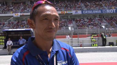Nobuatsu Aoki all set for Monday's Suzuki test