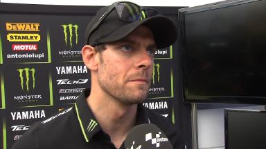 Crutchlow left to lament first retirement of 2013