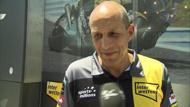 Luthi's manager Daniel Epp on return to podium