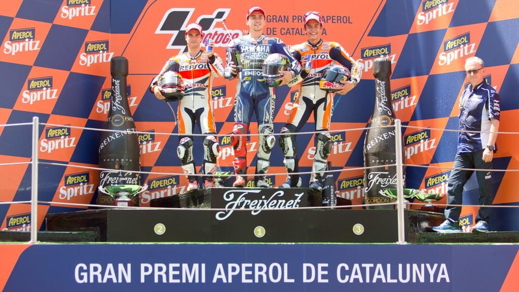 Pedrosa, Lorenzo, Marquez, Repsol Honda Team, Yamaha Factory Racing, Montmelo RAC