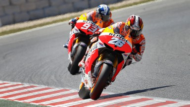 Dani Pedrosa, Marc Marquez, Repsol Honda Team, Montmelo RAC