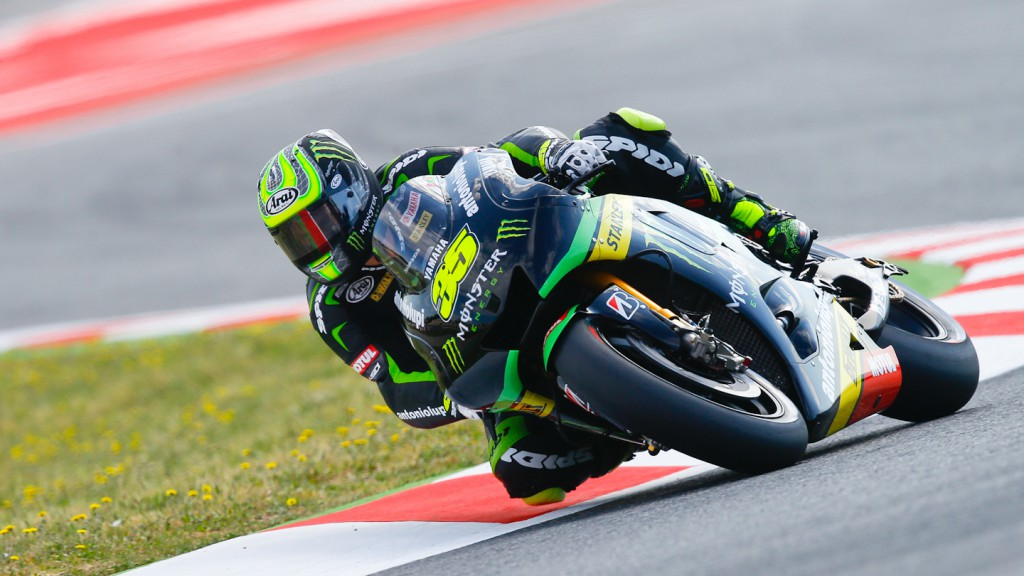 Cal Crutchlow, Monster Yamaha Tech 3, Montmelo WUP