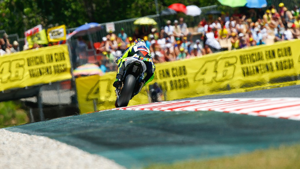 Valentino Rossi, Yamaha Factory Racing, Montmelo RAC