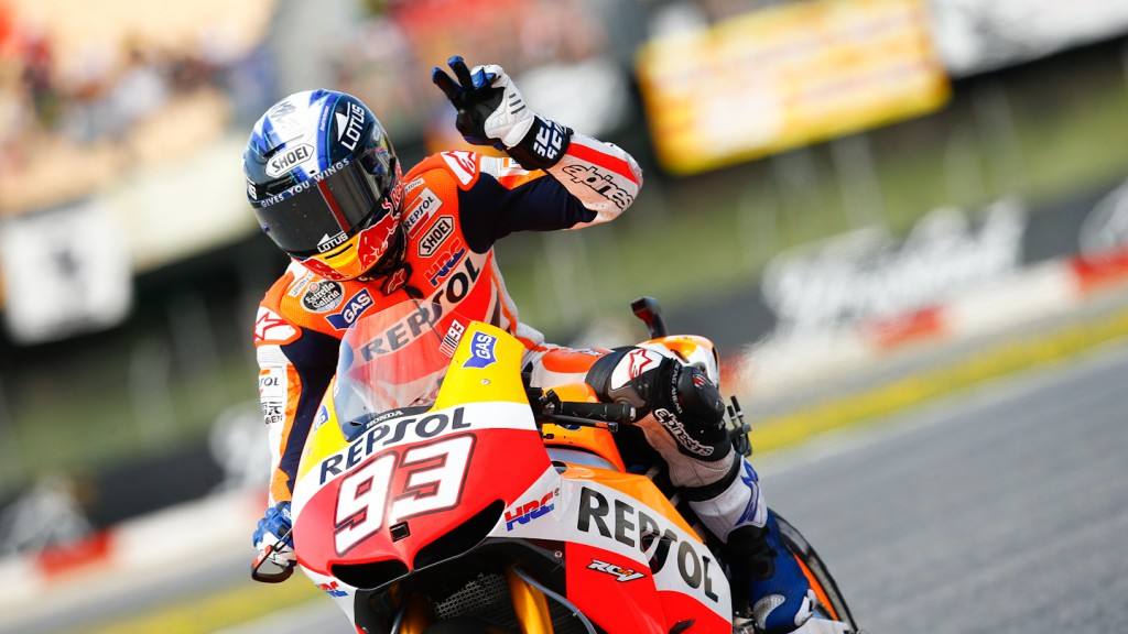 Marc Marquez, Repsol Honda Team, Montmelo RAC