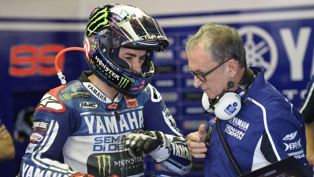 Jorge Lorenzo, Yamaha Factory Racing, Montmelo WUP