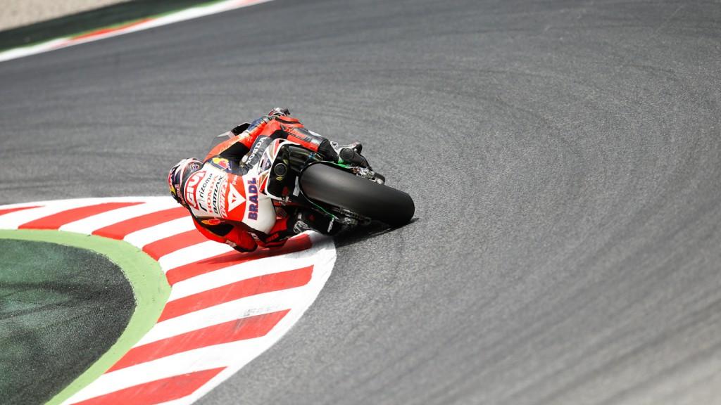 Stefan Bradl, LCR Honda MotoGP, Test Catalunya