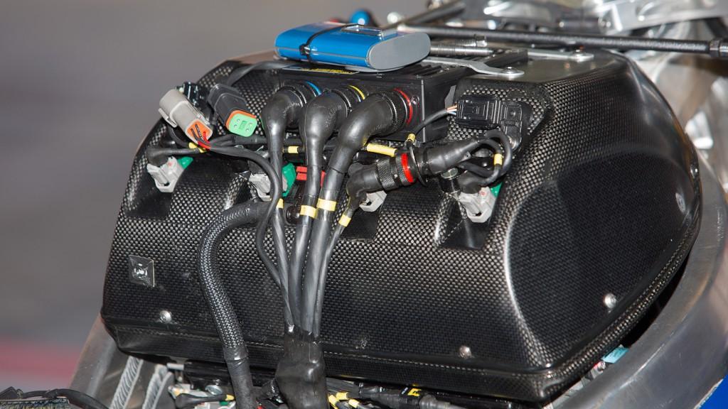 FTR Moto airbox, Avintia Blusens, Test Catalunya