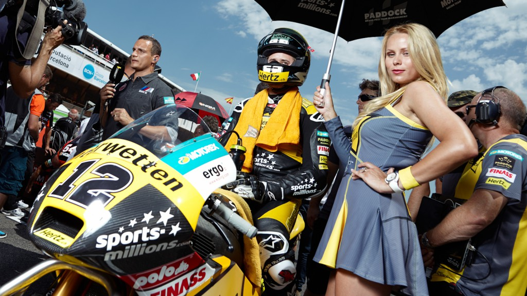 Thomas Luthi, Interwetten Paddock Moto2 Racing, Montmelo RAC - © Copyright Alex Chailan & David Piolé