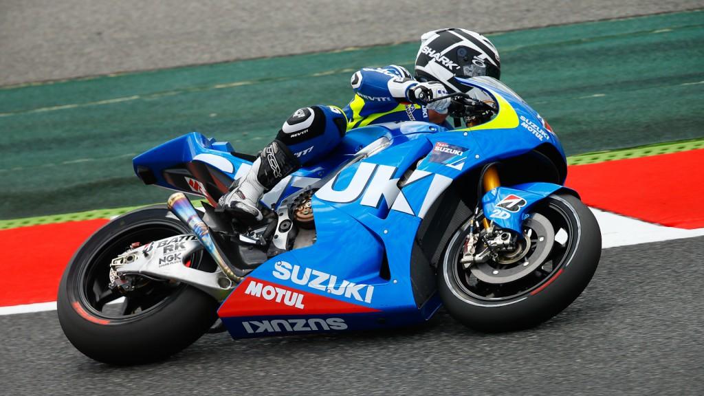 Randy De Puniet, Suzuki MotoGP Test Catalunya