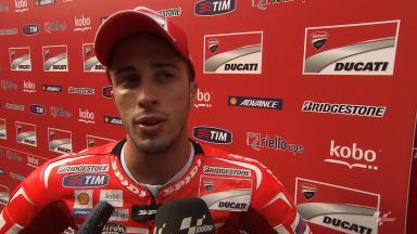 Dovizioso still honest about Ducati downfalls