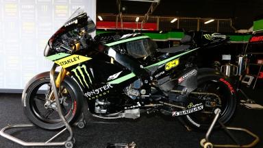 Crutchlow bike, Monster Yamaha Tech 3, Test Catalunya