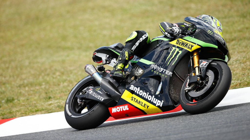 Cal Crutchlow, Monster Yamaha Tech 3, Test Catalunya