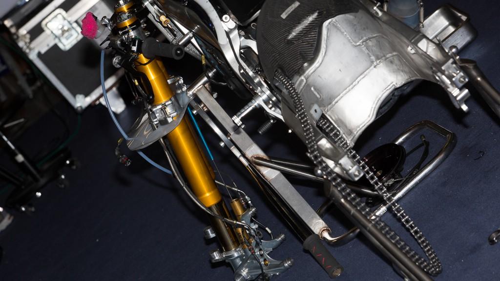 ART disassembled, Power Electronics Aspar, Test Catalunya