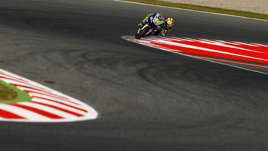 Valentino Rossi, Yamaha Factory Racing, Test Catalunya