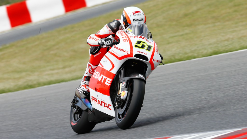 Michele Pirro, Pramac Racing Team, Test Catalunya