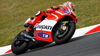 Nicky Hayden, Ducati Team, Test Catalunya