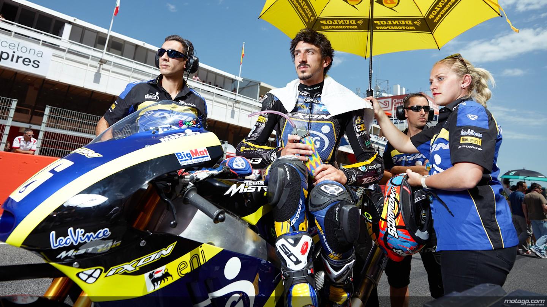 motogp.com · Louis Rossi, Tech 3, Montmelo RAC - © Copyright Alex Chailan & David Piolé
