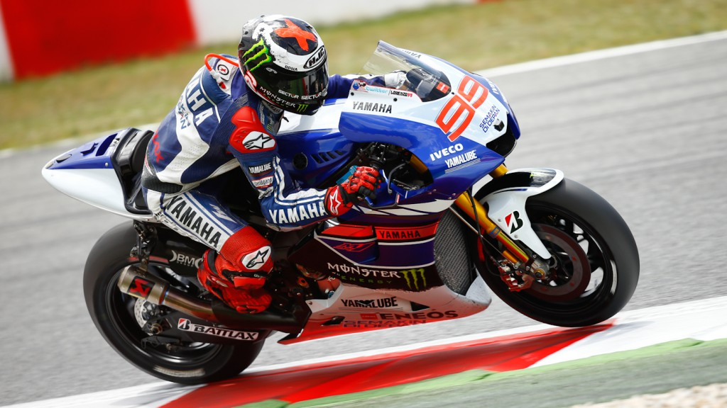 Jorge Lorenzo, Yamaha Factory Racing, Test Catalunya