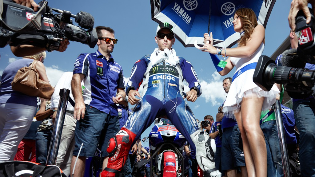 Jorge Lorenzo, Yamaha Factory Racing, Montmelo RAC - © Copyright Alex Chailan & David Piolé