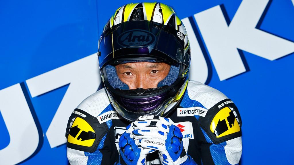 Nobuatsu Aoki, Suzuki MotoGP Test Catalunya