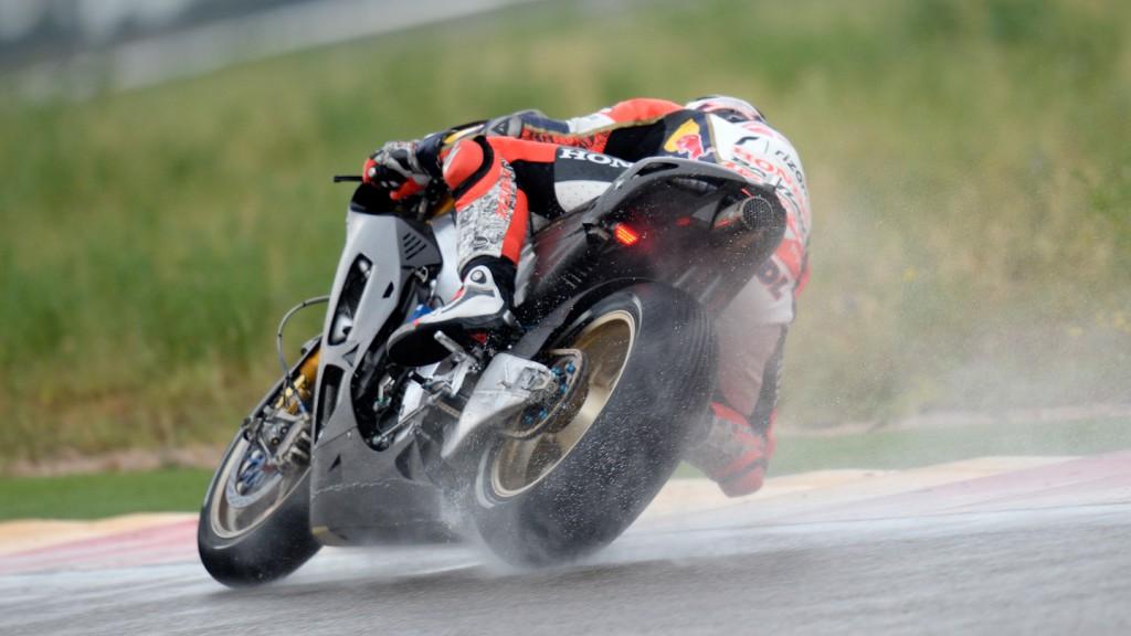 Stefan Bradl, LCR Honda MotoGP, Aragon Test © Gigi Soldano / Milagro