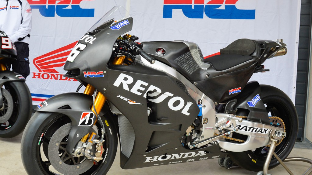 20104 Repsol Honda Bikes, Aragon Test