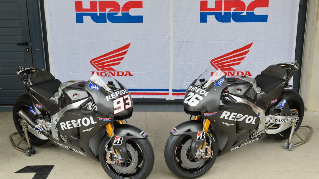 2014 Repsol Honda Bikes, Aragon Test