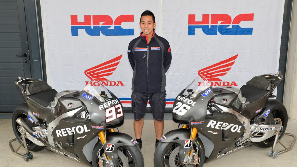 Takeo Yokoyama Repsol Honda Team Technical Director, Aragon Test