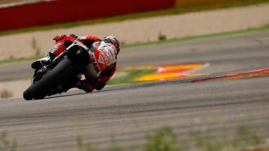 Stefan Bradl, LCR Honda MotoGP, Aragon Test