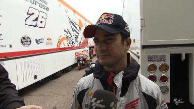 Pedrosa has first taste of 2014 Honda