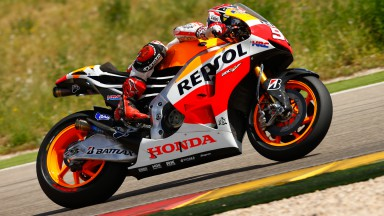 Marc Marquez, Repsol Honda Team, Aragon Test