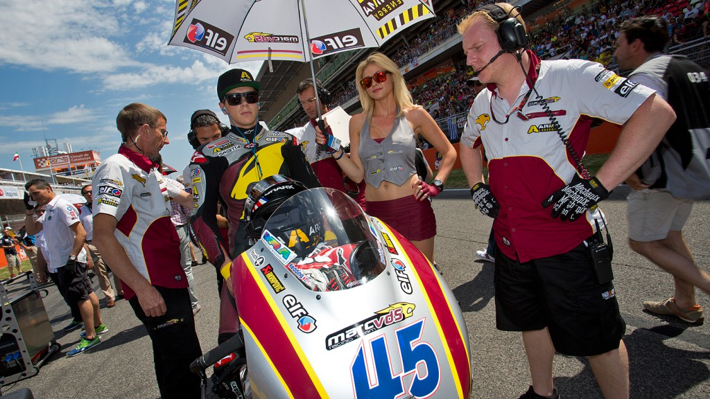 Scott Redding, Marc VDS Racing Team, Montmelo RAC