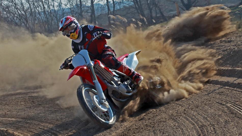Marc Marquez, Motocross training