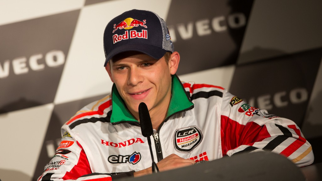 Stefan Bradl, LCR Honda MotoGP, Iveco TT Assen Press Conference