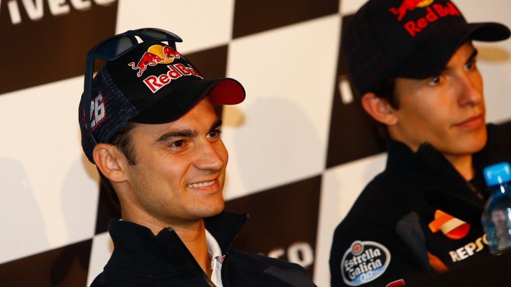Dani Pedrosa, Repsol Honda Team, Iveco TT Assen Press Conference