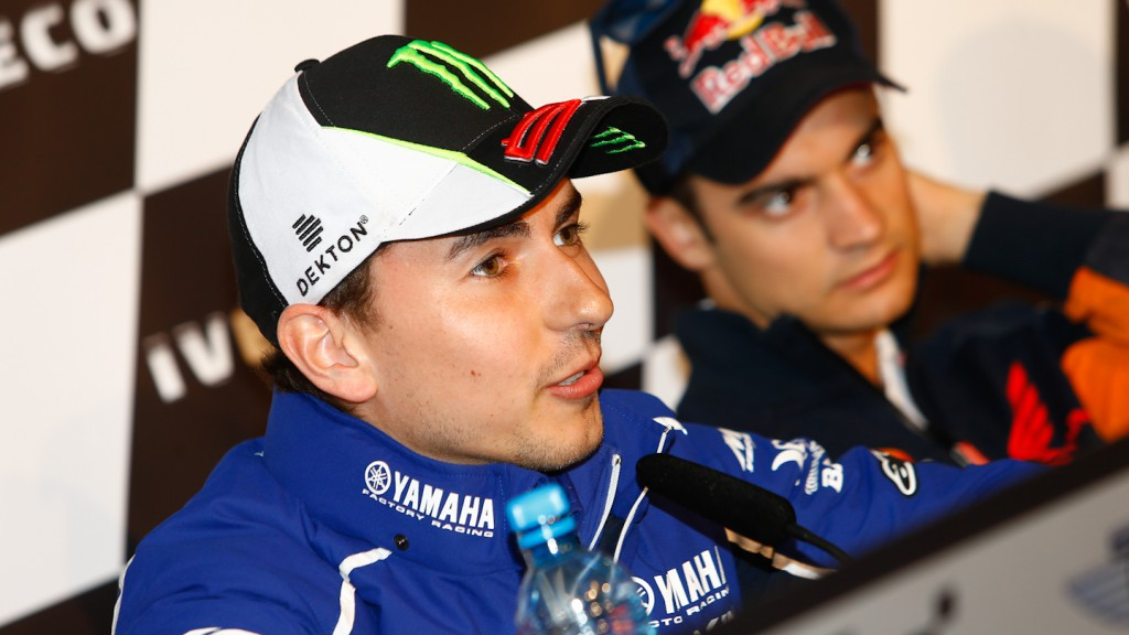 Jorge Lorenzo, Yamaha Factory Racing, Iveco TT Assen Press Conference