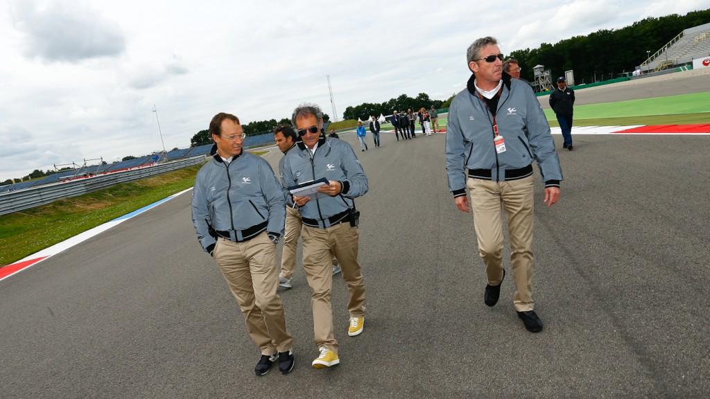 Race Direction lap, Assen Circuit