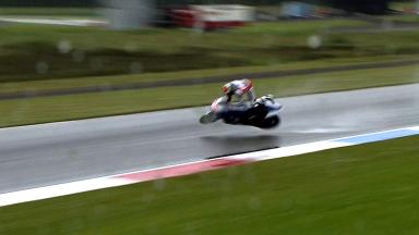 Lorenzo crashes in second free practice