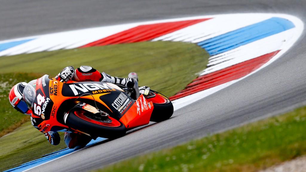 Mattia Pasini, NGM Mobile Racing, Assen FP2