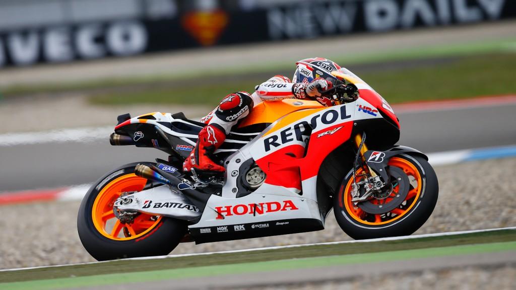 Marc Marquez, Repsol Honda Team, Assen FP1