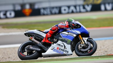Jorge Lorenzo, Yamaha Factory Racing, Assen FP1
