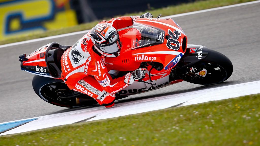 Andrea Dovizioso, Ducati Team, Assen Q1