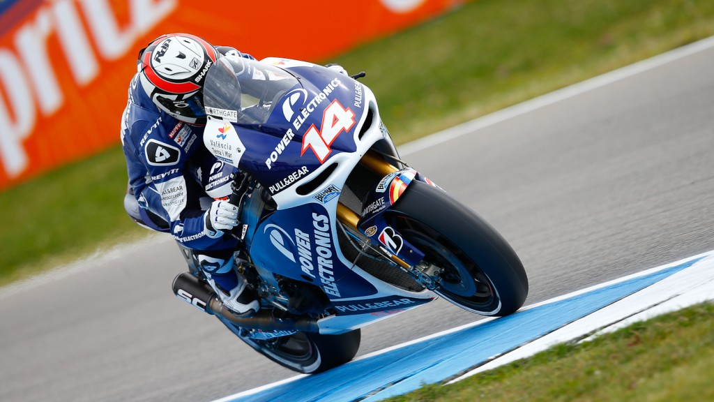 Randy de Puniet, Power Electronics Aspar, Assen Q2